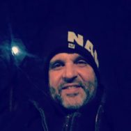 Midnight Walk And Talk with a full moon